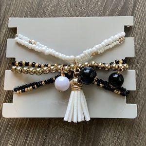 Jewelry - PomPom Bracelet Set